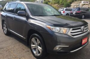 2013 Toyota Highlander AWD SPORT PACKAGE LEATHER with 3rd ROW SE