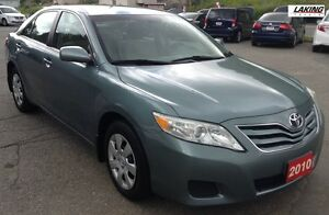 2010 Toyota Camry LE LOACALLY OWNED DEALER MAINTAINED AND NEW TI