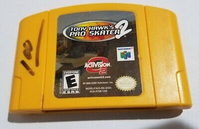 Tony Hawk's Pro Skater 2 (Nintendo 64, N64) Authentic Cleaned And Tested