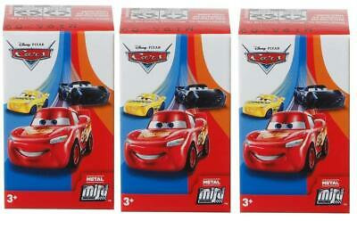 Disney Cars 3 Metal Mini Racers Series 1 (Lot of 3)