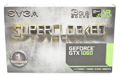EVGA GeForce GTX 1060 (3GB) (03G-P4-6162-KR) Graphics Card