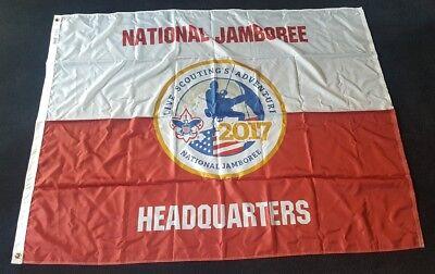 3'x5' 2017 Boy Scout Jamboree Pole Flag