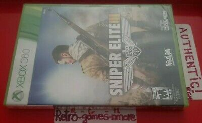 Sniper Elite III 3  Afrika Microsoft Xbox 360 AUTHENTIC Actual pict SEALED Fast segunda mano  Embacar hacia Mexico