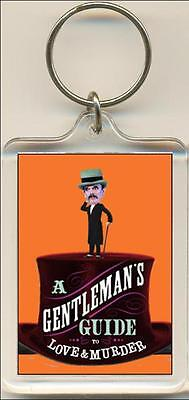 A Gentleman's Guide To Love And Murder. The Musical. Keyring / Bag (The Gentlemans Guide To Love And Murder)