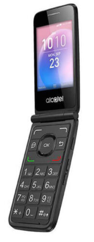 Android Phone - Alcatel GO Flip 4044V 4GB 4G LTE WiFi GSM Unlocked Flip Phone Black - Grade A