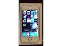 iPhone 5s / Unlocked / Immaculate condition / 16GB / Fully boxed & with all original contents