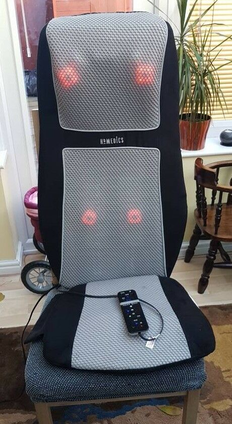 Homedics deluxe back shiatsu massager