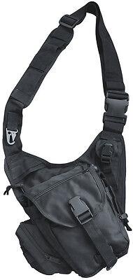 Umhängetasche Tasche Schwarz Crossover Body-Bag Einsatztasche Outdoor Security
