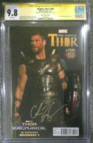 Mighty Thor #700__CGC 9.8 SS__Signed by Chris Hemsworth