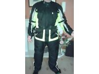 Buffalo Jacket and Trousers, just like new, body protection, used on test ride only.