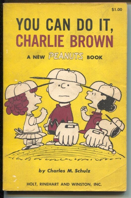 You Can Do It, Charlie Brown 1967-Charles Schulz art-reprints Peanuts daily s...