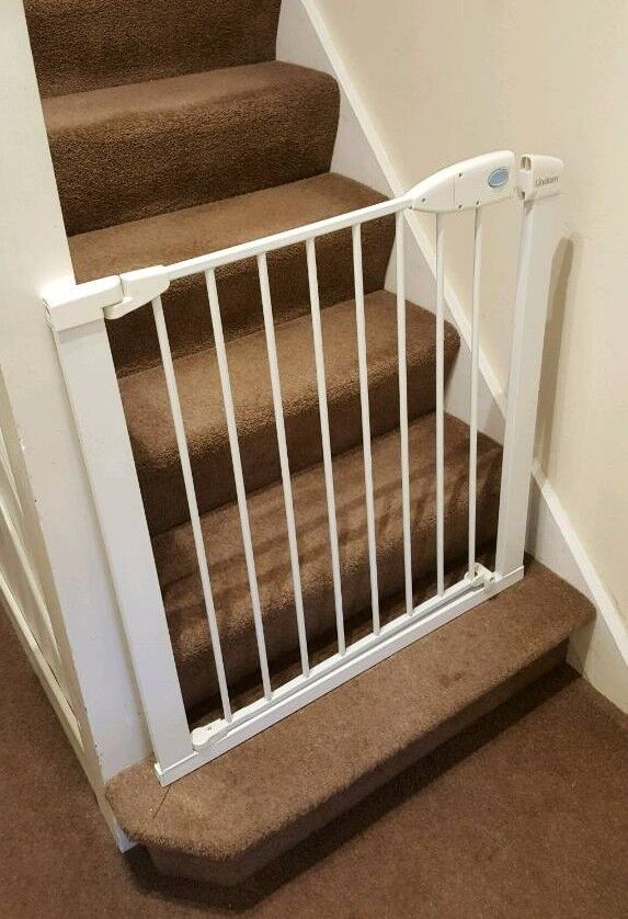 LINDA SURE SHUT SAFELOCK SAFETY GATEin Cambridge, CambridgeshireGumtree - Lindam Sure Shut Safety Gate.Boxed. As good as new.Only used as a temporary measure to stop a cat climbing stairs.See pictures for size and other information