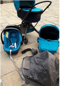 Mamas & papas 3 in 1 travel system in ex excellent condition