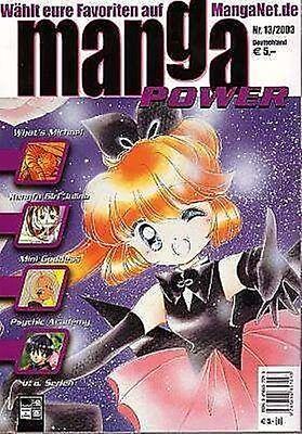 Manga Power Nr. 13 u.a Peach Girl, Chobits, Turn A Gundam, Psychic Academy
