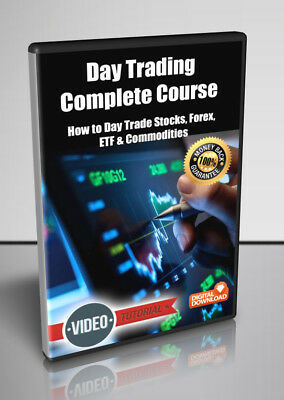Day Trading Complete Course - Video Course for Digital Download