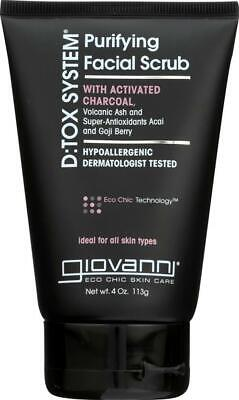 Giovanni Hair Care Products-Detox System Purifying Facial Scrub, Pack of 2 ( ... Giovanni Hair Care Systems