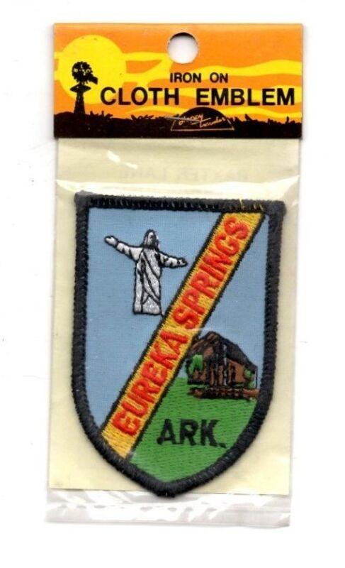 Eureka Springs Arkansas Souvenir Travel Patch - Brand New - Free Shipping!