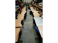 Straight,Corner,Wave,Curved Desks+Matching Pedestal and Chair ! VARIOUS PRICES !