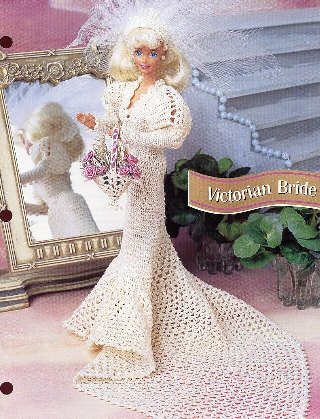San Franciscan Songbird Outfit fits Barbie Doll Annie/'s Crochet PATTERN Leaflet