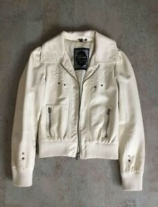 Authentic Guess Pleather Bomber Jacket