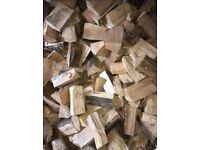 Hardwood kiln dried logs