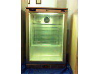 Commercial bar glass door bottle cooler chiller fridge