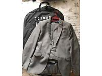 TOP MAN - grey suit