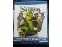 Shrek bluray 3D 1,2,3,4