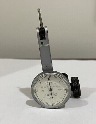 Brown Sharpe 7032-1 Bestest Dial Test Indicator. 0001 Swiss