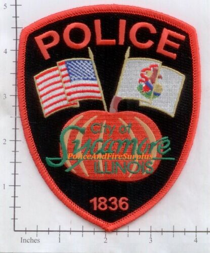 Illinois - Sycamore IL Police Dept Patch