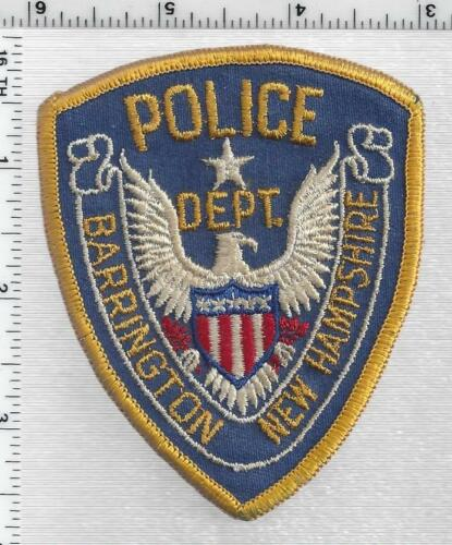 Barrington Police (New Hampshire)  1st Issue Cap/Hat Patch