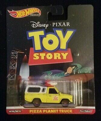 2019 Hot Wheels Premium Toy Story Pizza Planet Truck Brand New Near Mint