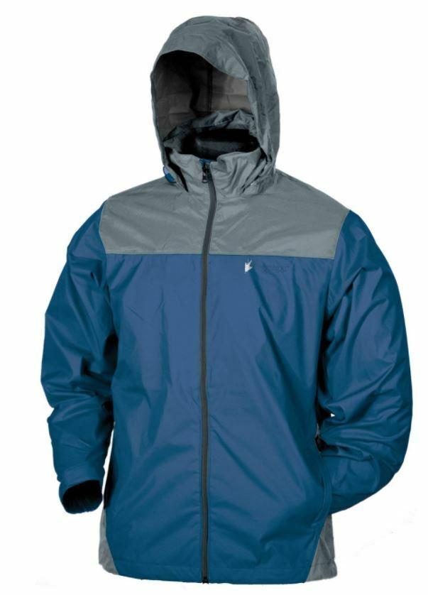 Mens Frogg Toggs DriPore WATERPROOF Breathable Rain Coat Jacket Hooded Fishing