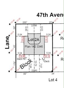 REDUCED Residential Lot Leduc for duplexes