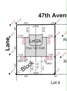 Duplex lot Leduc $250,000