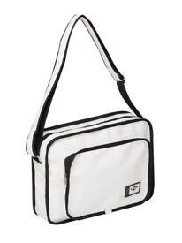 PU Flight Bag By Lee Cooper BNWT Plenty Storage White Black