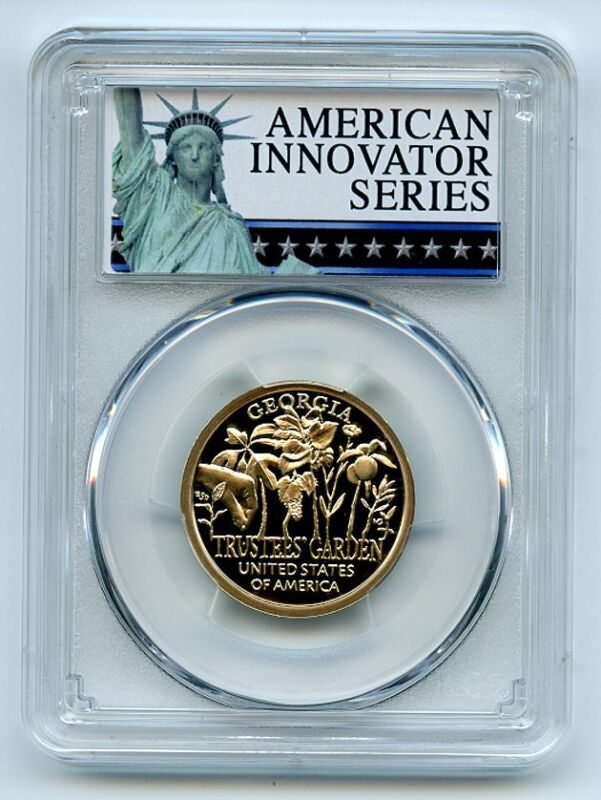 2019 S $1 American Innovation Dollar GA Trustees Garden PCGS PR70DCAM Exclusive