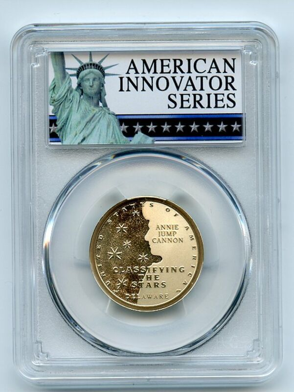 2019 S $1 American Innovation Dollar DE Classifying Stars PCGS PR69DCAM Exclusiv