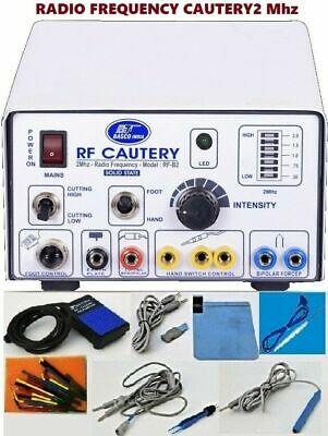 Rf- 2mhz-radio Surgery High Frequency Electrosurgical Generator Cautery Machine