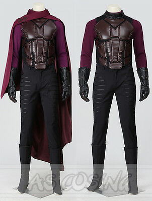 Days Of Future Past Magneto Costume (X-Men Days of Future Past Cosplay Magneto Erik Lehnsherr Cosplay Costume Outfit)