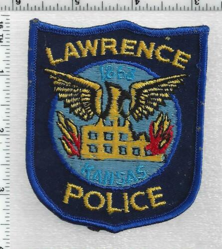 Lawrence Police (Kansas) 1st Issue Shoulder Patch