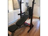 Bodycraft gym bench with leg extension - brand new