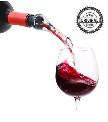 Vinetto Original Red Wine Aerator and Decanter Spout-Best Aerating (Best Wine Aerator Pourer)