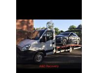 Vehicle Recovery Service 24/7 Any Car Good Prices