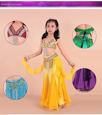 Children's dress Arab Oriental Belly Dance Costume Professional dresses Girl - Arabic Belly Dance Dress