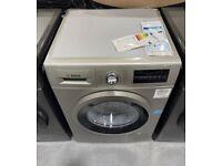 BOSCH Serie 4 WAN282X1GB 8 kg 1400 Spin Washing Machine - Silver Inox NEW