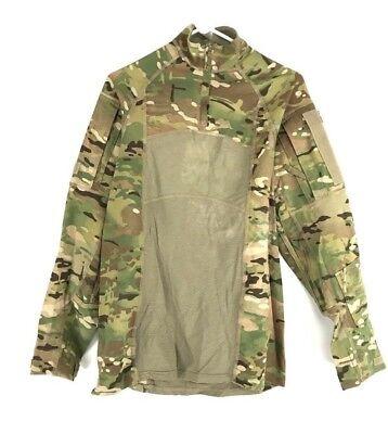 OCP Army Combat Shirt, Multicam Type II ACS, Medium, 1/4 Zippered, Military
