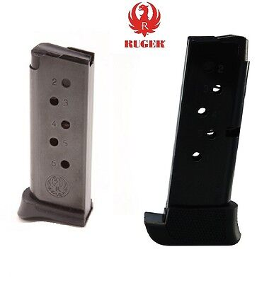 Ruger Lcp Factory Magazine Choose 6Rd Or 7Rd