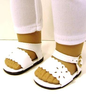 "White Sandals Shoes fits 18"" American Girl Doll on Rummage"