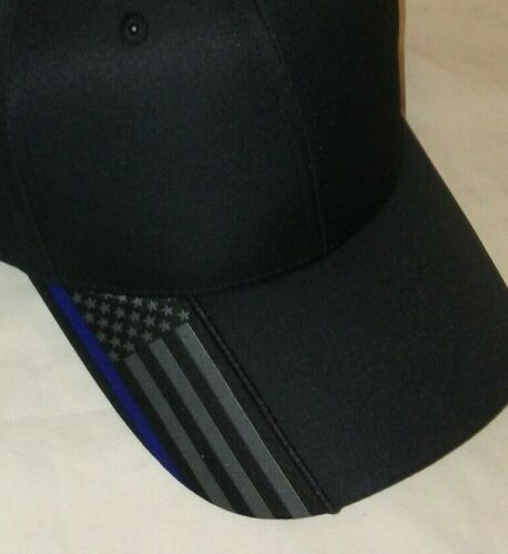 POLICE HAT Blue Lives Matter Thin Blue Line Hat BLUE LINE FLAG POLICE SUPPORT